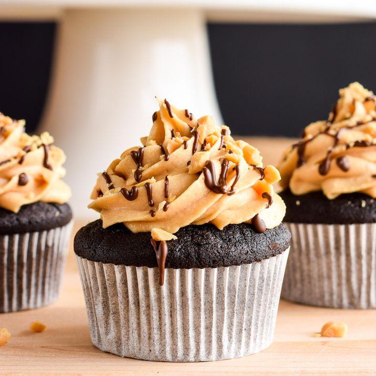 Muffins med chokladkräm