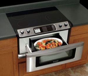 Sharp Insight Range With Microwave Drawer