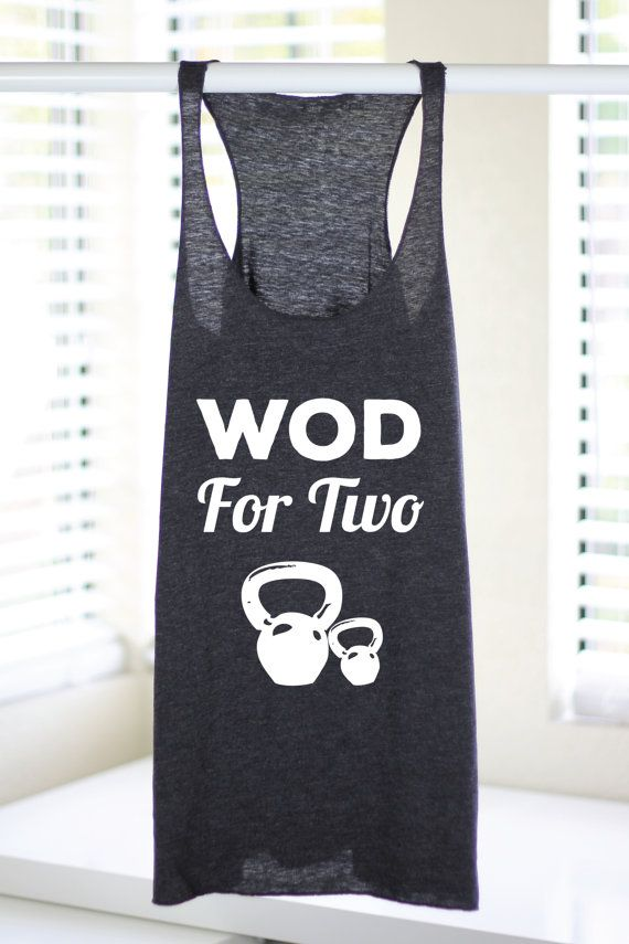Wod For Two Crossfit Tank Tops Crossfit Tank by ArimaDesigns