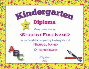 kindergarten graduation certificate wording  15 best Preschool Diplomas images on Pinterest | Graduation ideas ...