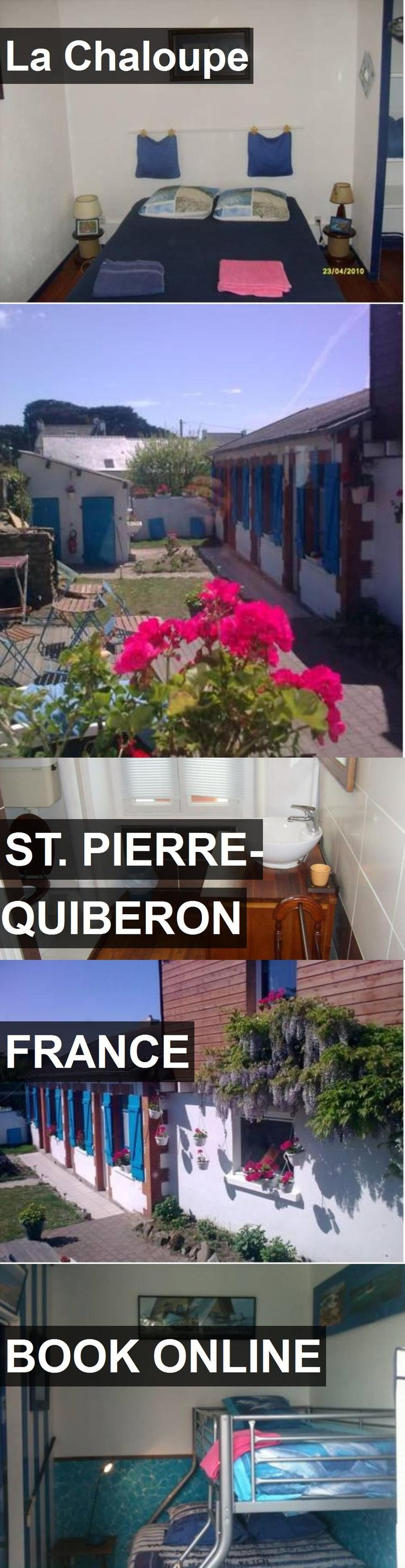 Hotel La Chaloupe in St. Pierre-Quiberon, France. For more information, photos, reviews and best prices please follow the link. #France #St.Pierre-Quiberon #hotel #travel #vacation