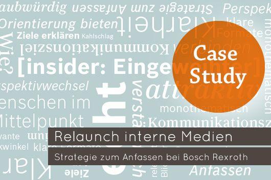 """Relaunch interne Medien / Mitarbeitermagazin """"insider"""" von Bosch Rexroth"""
