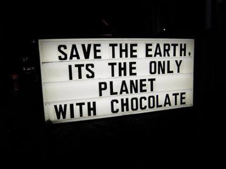 earth chocolate