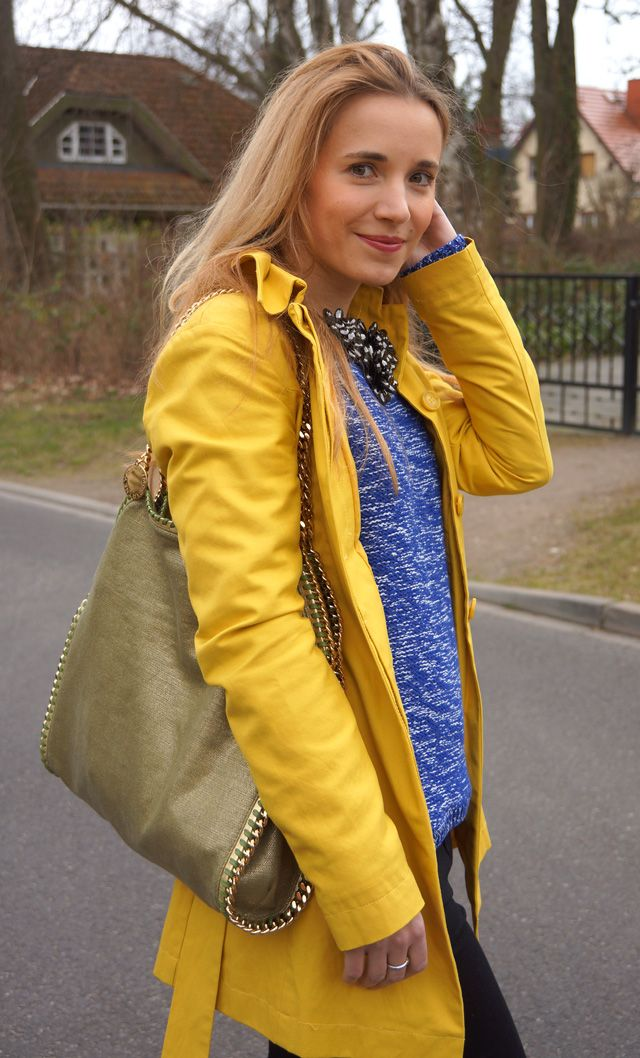 Outfit: Gute-Laune-Mantel - GlamourSister.com