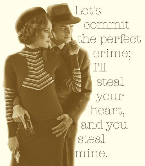 Let create the perfect crime: Bonnie & Clyde