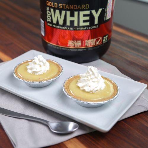 Optimum Nutrition | Maria Dinello's Birthday Cake Protein Pudding Pies