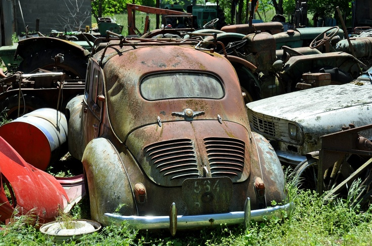 Wrecking Yards In Oregon : Best images about abandoned cars on pinterest