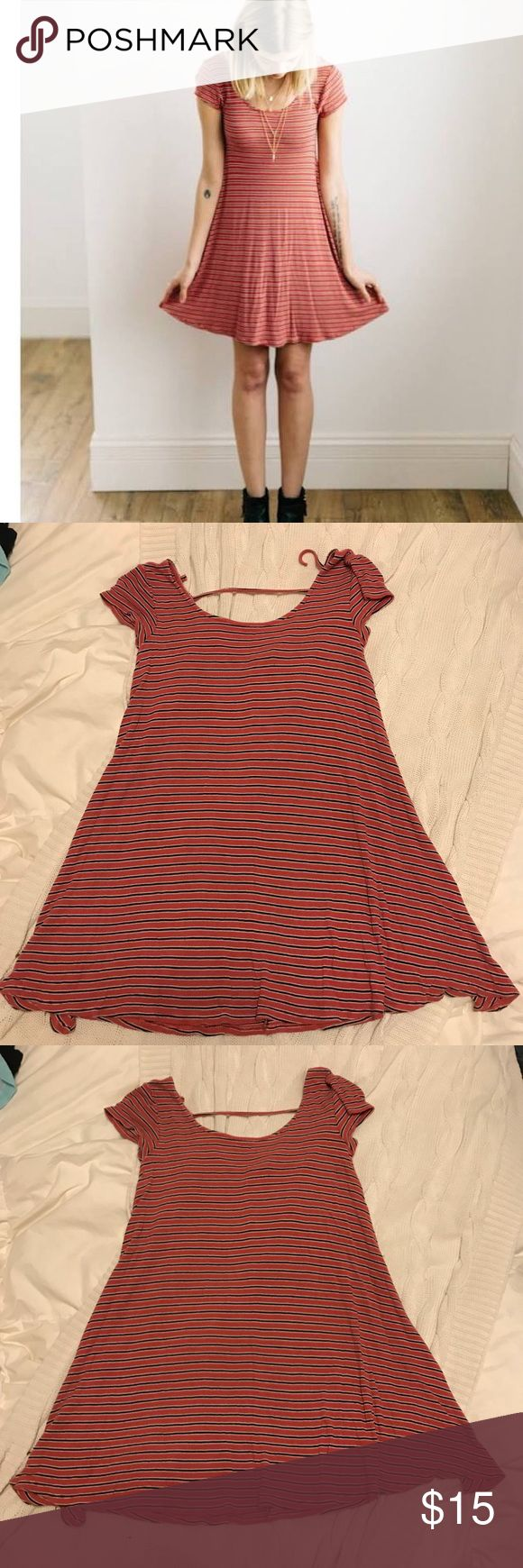 American Eagle T-shirt Dress Super cute comfy dress. Great condition. Comes from a smoke free home. American Eagle Outfitters Dresses Mini