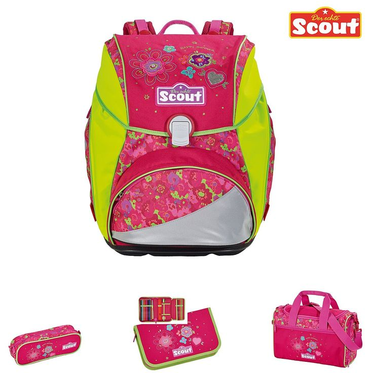 Scout Alpha Schulranzen-Set Happy Summer