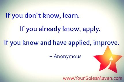 quotes personal mantra sales training inspiration www