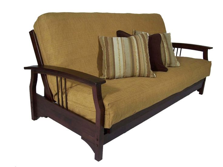 futon | Fremont Dark Cherry Queen Futon Set by Strata Furniture (Strata ...