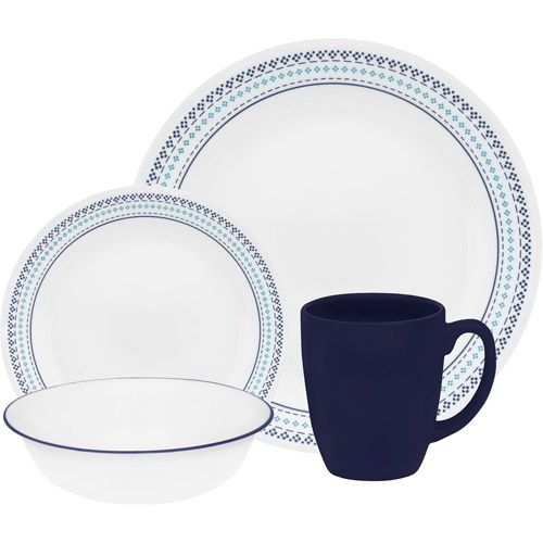 #Corelle Folk Stitch dinnerware on walmart.com