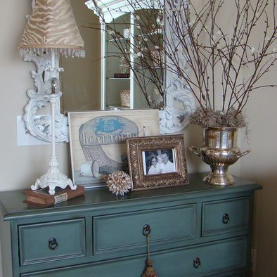 12 best Decorating a dresser top images on Pinterest