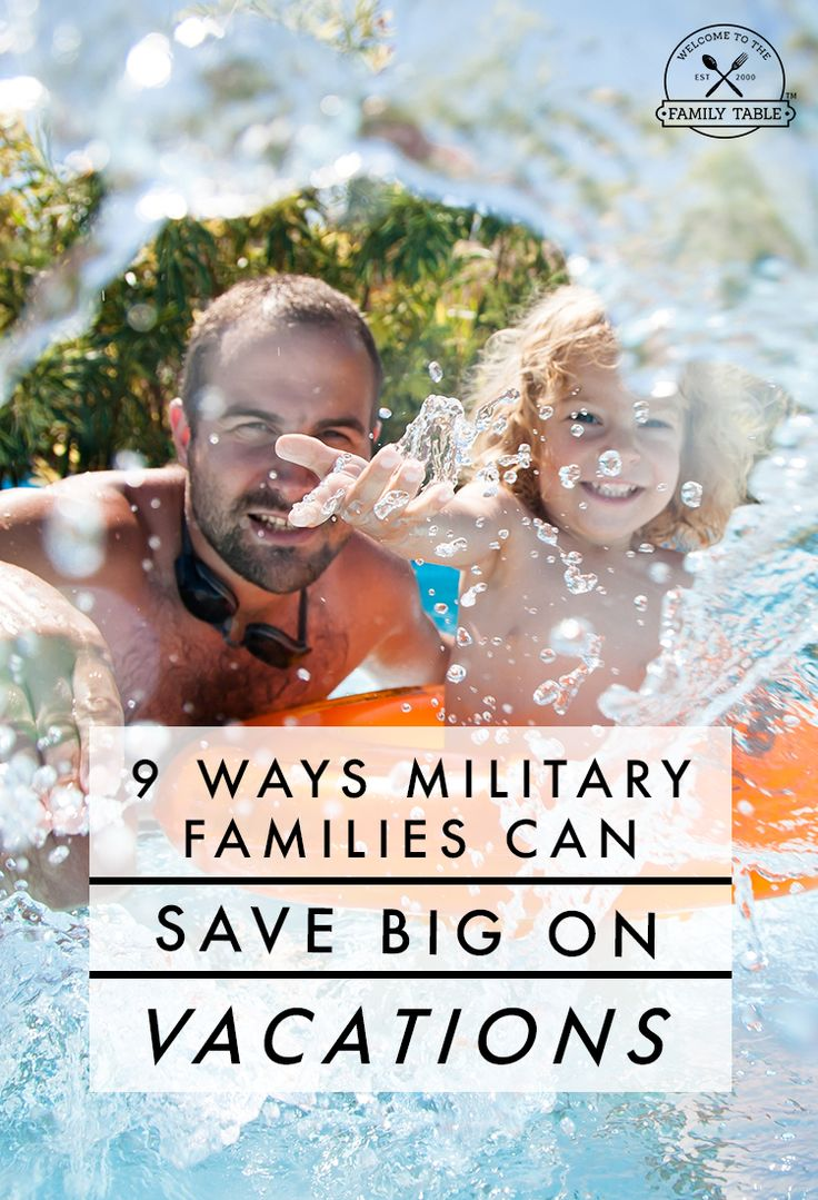 Are you a military family looking to save big on your next vacation? Look no further! Here are 9 ways military families can save big on their next vacation!