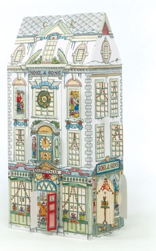 Department Store Advent Calendar - a glimpse into the exciting world of a department store in the days leading up to Christmas.