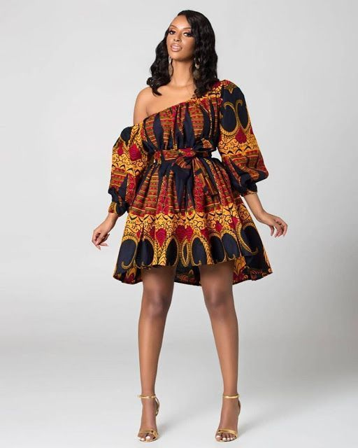 2019 Unique Ankara Short Gown Styles