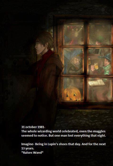 Remus Lupin has the most tragic story of all the HP characters. He lost all of his closest friends in one night.