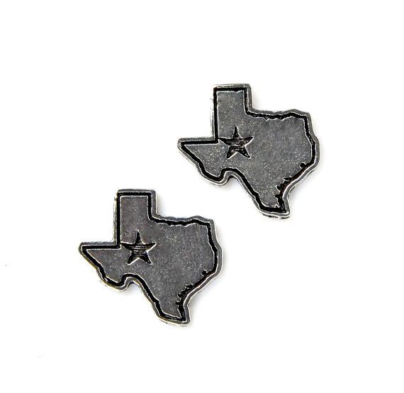Texas Cufflinks  Gifts for Men  Anniversary Gift  by Mancornas,