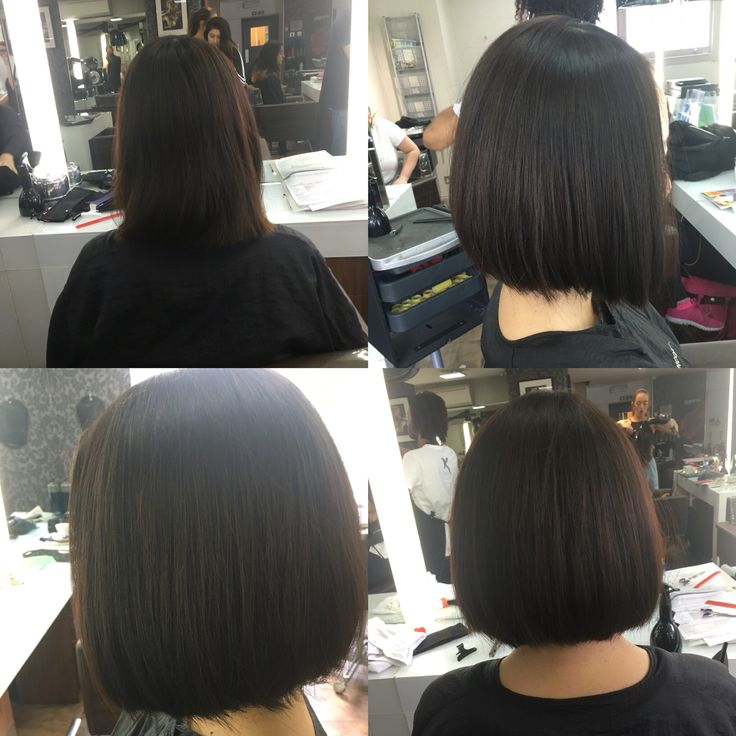 51 best one length images on pinterest hair cuts one length jaw length one length bob slightly con caved blowdryed straight and sitting under urmus Choice Image