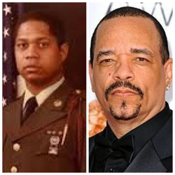 Ice-T-Tracy Marrow-Army-Early 80's (Musician/Actor)