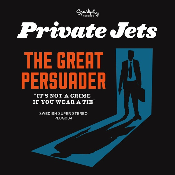 "Cover art for single ""The Great Persuader"" by Private Jets."