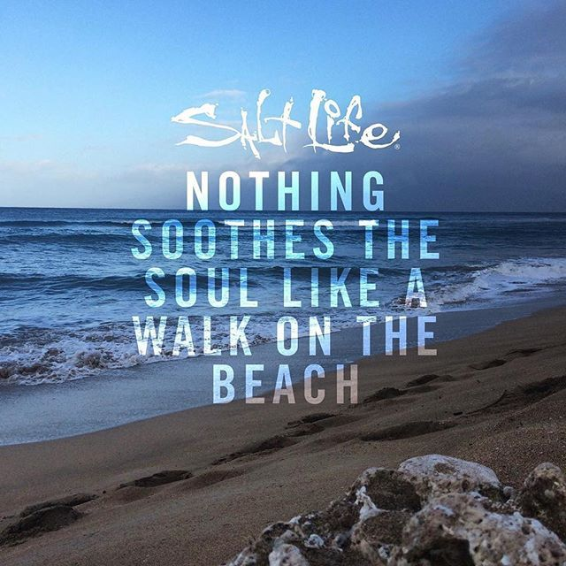 Hit the beach and soothe your soul Beach Quotes