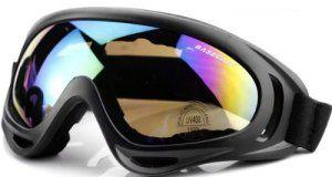 Anti-poussière, lunettes équitation coupe-vent, lunettes de moto, lunettes de ski