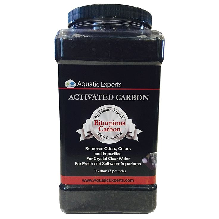 Classic Activated Aquarium Filter Carbon, Bituminous Coal For Freshwater, Saltwater, Reef, Pond, Public Aquariums - 64 oz - by Aquatic Experts