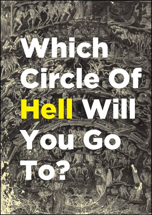 Dante S Rings Of Hell Quiz