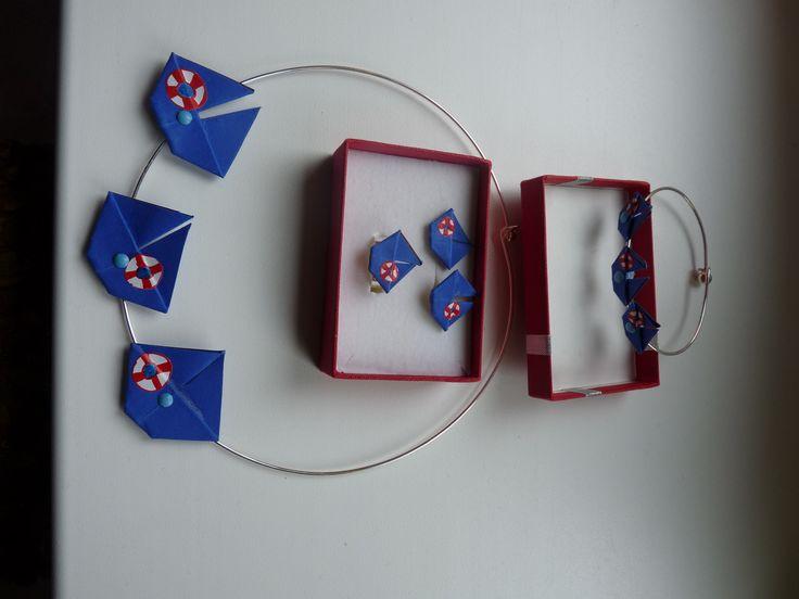 náhrdelník origami