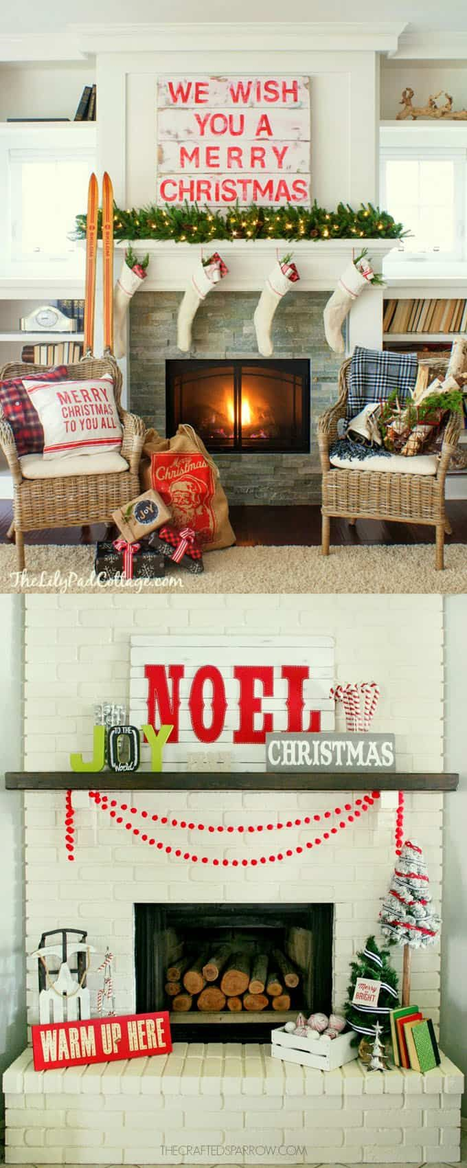 best 25 diy christmas fireplace ideas on pinterest cardboard
