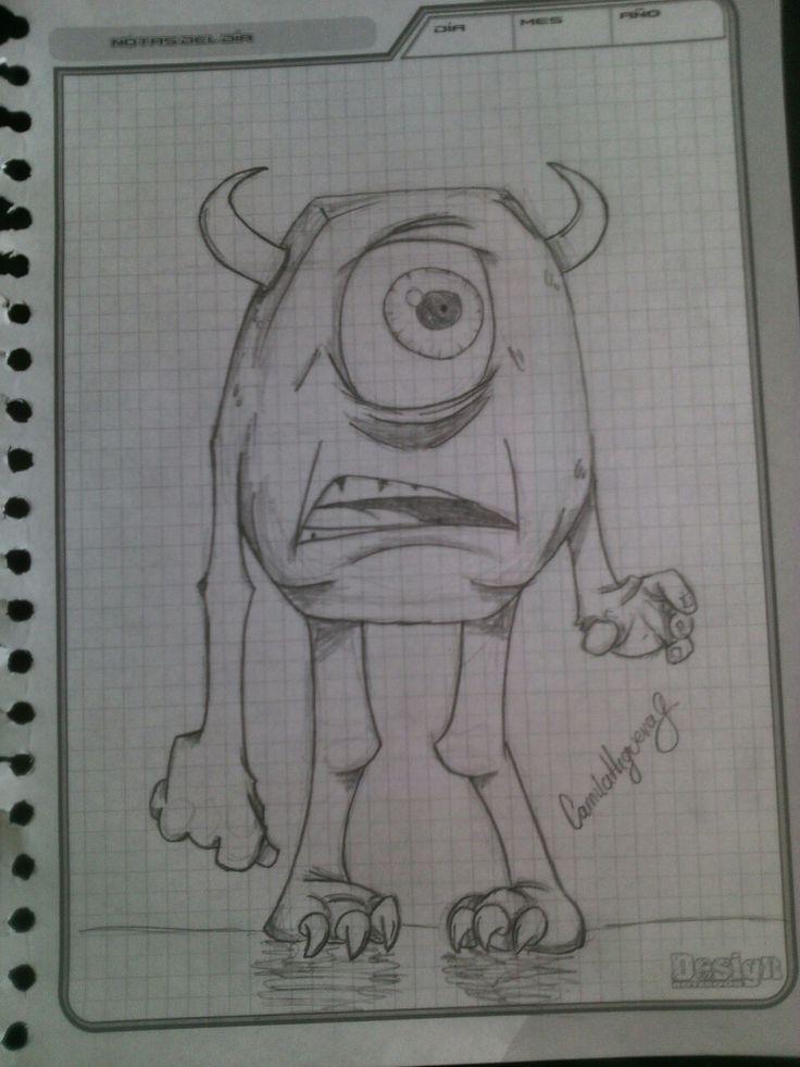 Dibujo a lápiz.