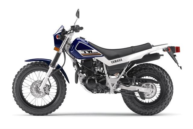 2017 Yamaha TW200 Adventure Touring/Dual Sport Motorcycle