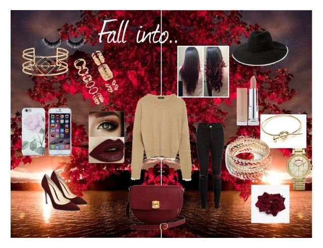 """Fall Clothing"" by rosesanders on Polyvore featuring Zara, The Code, Michael Kors, Forever 21, Stella & Dot, ZooShoo and MANGO"
