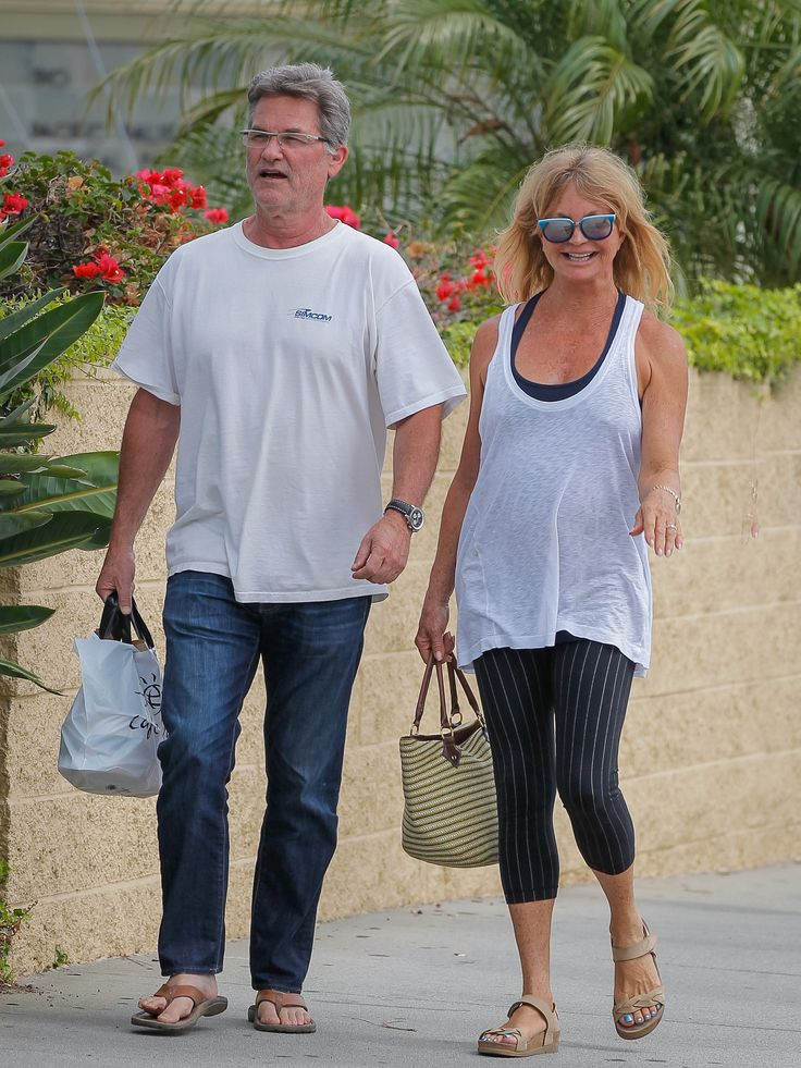 Kurt Russell and Goldie Hawn Make the Most Casual Outing Look So Sweet