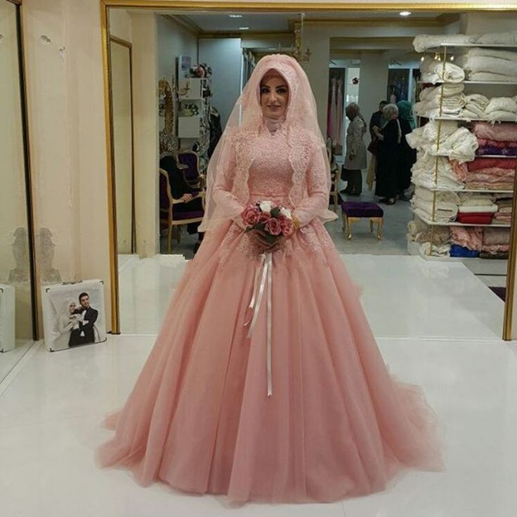 ==> [Free Shipping] Buy Best High Neck Muslim Lace Applique Arabic Design Custom Made Hijab Bride Dresses abito da sposa Wedding Dresses 2017 Alibaba China Online with LOWEST Price   32801995667