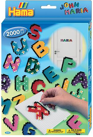 Hama ABC - Learn the alphabet and learn to spell your name while having fun!