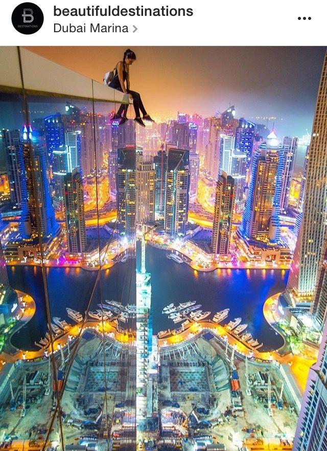 Dubai marina... Spotted on Instagram.