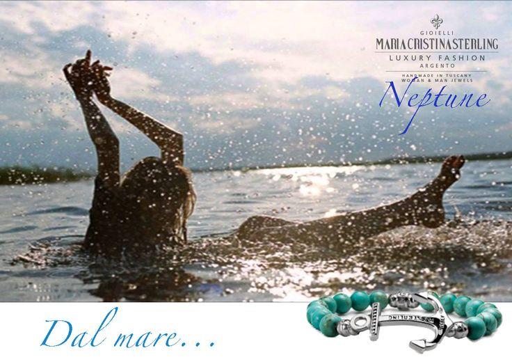 #NEPTUNECOLLECTION IL mare in un gioiello http://shop.mariacristinasterling.it/categoria-prodotto/gioielli_donna/collezione_neptune/