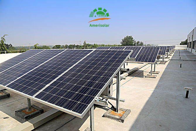 Amerisolar Professional Solar Panels Manufacturer Pv Solarpanels Solarpower Greenenergy Solar Solar Panel Manufacturers Solar Panels Roof Solar Panel