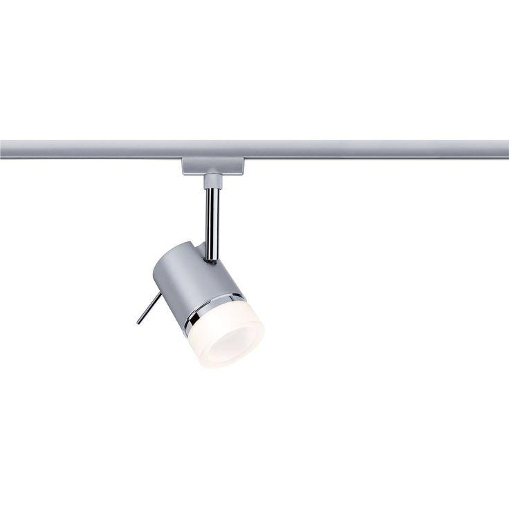 Kov, chróm matný ✓ Paulmann URail Bodové LED svietidlo Pipe matný chróm ➜ Koľajnicové a lankové systémy kúpiť teraz v online obchode OBI!