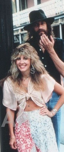 Stevie Nicks and Mick Fleetwood                                                                                                                                                     More