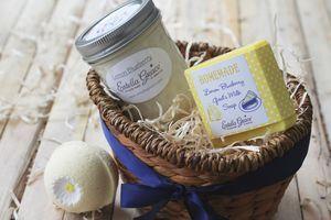 Lemon Blueberry Gift Basket