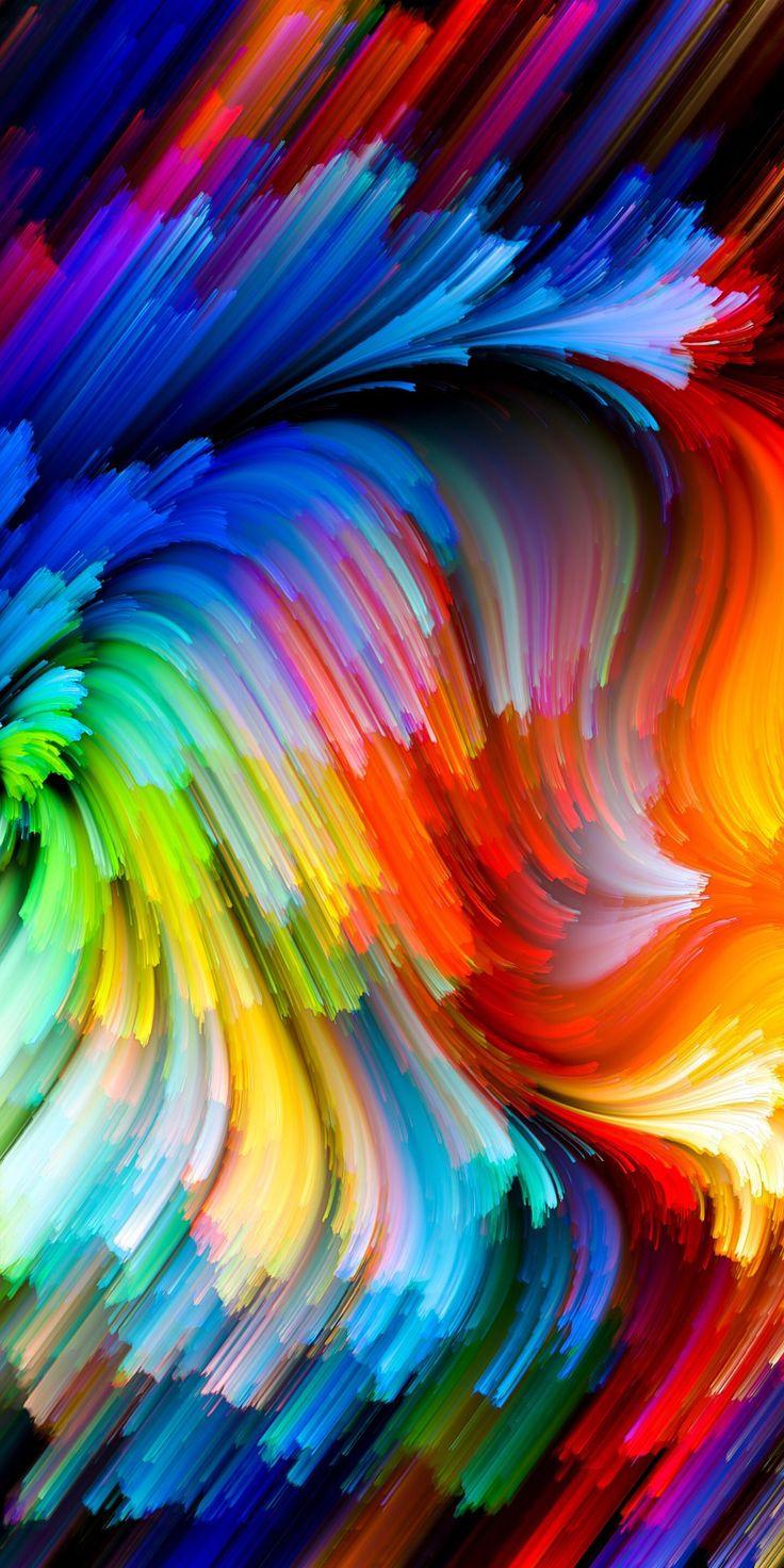 Rainbow Abstract iphone wallpaper, Rainbow wallpaper