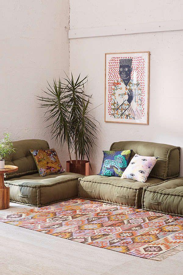 Reema Floor Cushion Floor Pillows Living Room Floor Seating