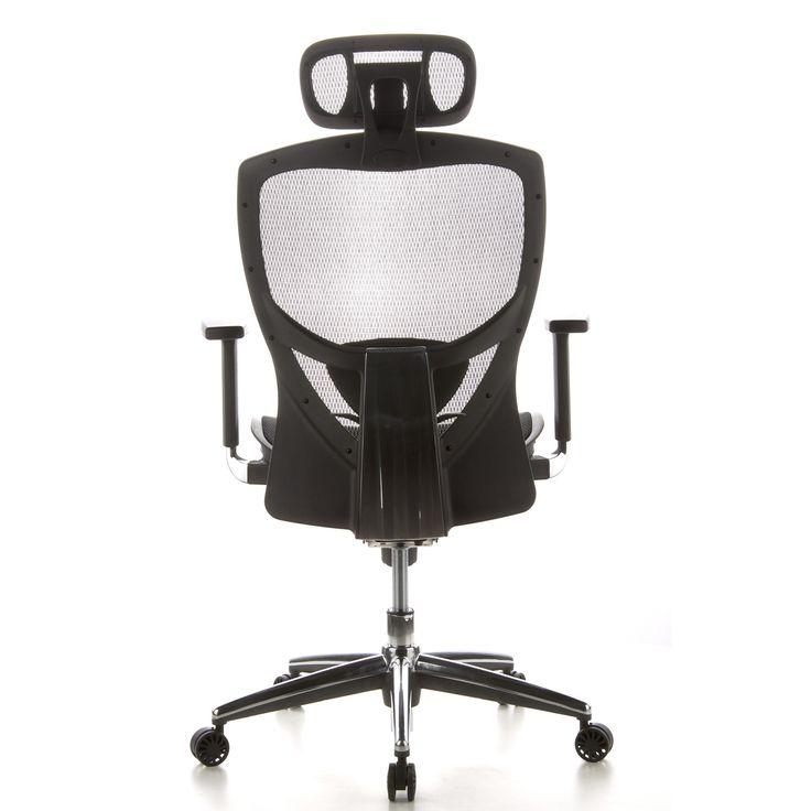 Silla ergonomica VENUS PRO totalmente ajustable en malla negra - Silla Ergonomica de oficina VENUS PRO, gran diseño, Totalmente Ajustable, en malla Negra