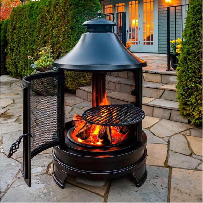 17 best images about the yard on pinterest wheelbarrow portable outdoor fireplaces wood burning outdoor wood burning fireplaces kits