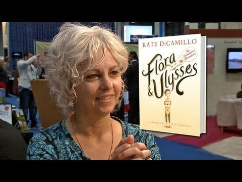 ▶ Newbery Medal Author Kate DiCamillo on Flora & Ulysses: The Illuminated Adventures - YouTube