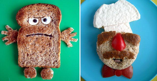 Bernd das Brot and the Muppets Swedish Chef