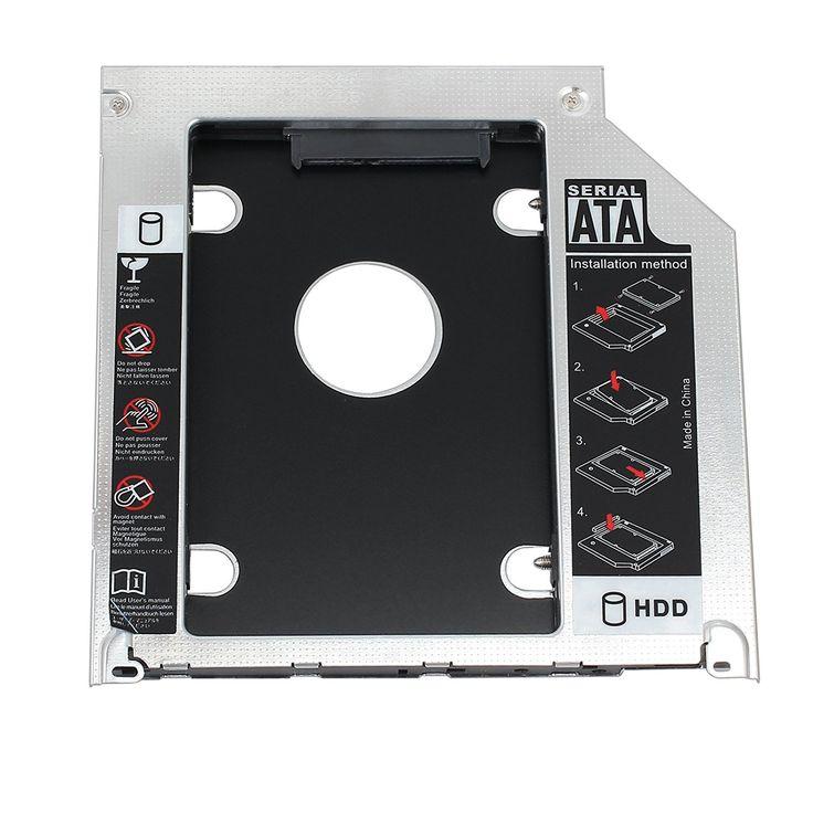 SATA Hard Drive Caddy Tray SSD HDD Hard Disk Internal for Apple MacBook Pro Unibody 13 15 17